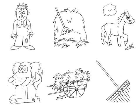 preschool farm coloring pages az coloring pages