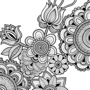 intricate coloring pages for adults intricate flower coloring pages coloring home