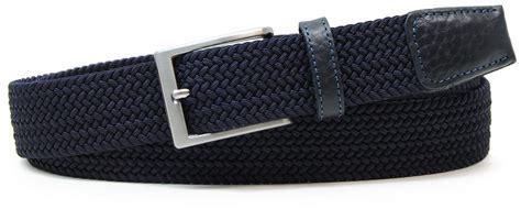 La Elastic Belt Louis Andreano cinture intrecciate elastiche uomo e donna adpel e acciaio