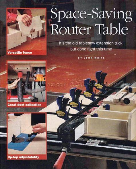 table saw router table table saw router table plans woodarchivist