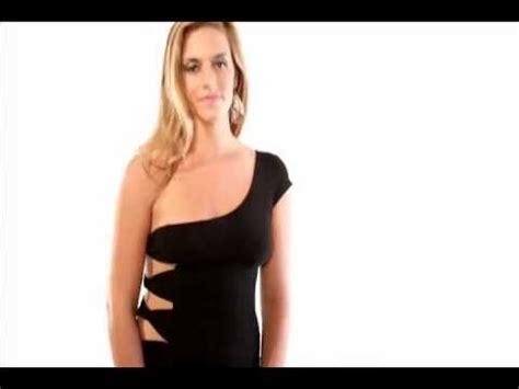 Hq 16708 Shoulder Belted Dress black one shoulder cut out evening dress shoptasneen