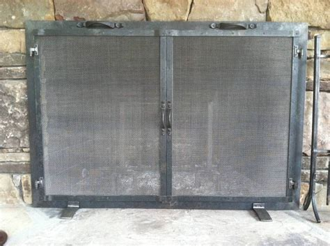 fireplace spark screen mesh curtains fireplace screen material fireplaces