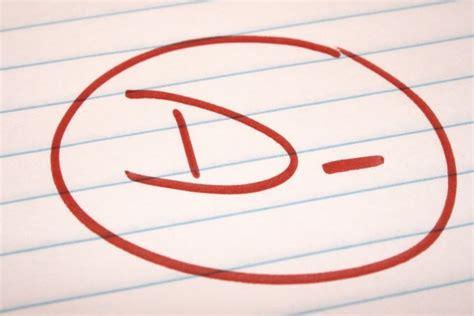 School Letter Grade D Minus School Letter Grade Picture Free Photograph Photos Domain