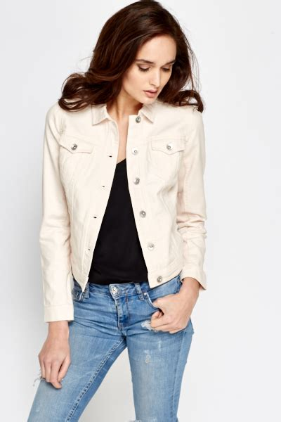 light pink jacket light pink denim jacket just 163 5