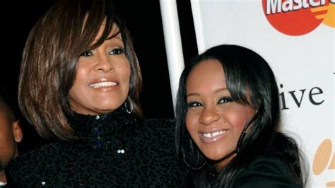 whitney houston and her daughter bobbi kristina brown found unconscious nearing three year