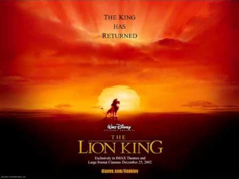 film lion king youtube the lion king soundtrack youtube