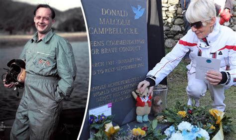 Water Speed Record Deaths Former Speed Record Holder Donald Cbell S To Be Marked 50 Years On From Crash