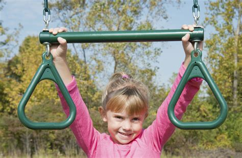 swing set trapeze bar rings trapeze bar with rings for kids swing sets trapeze bar