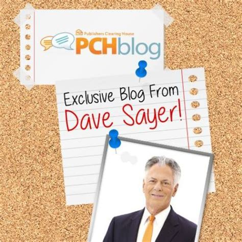 Pch Dave Sayer - pch blog pch winners circle