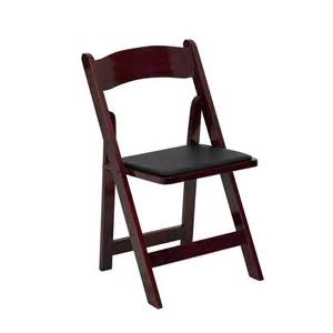 Padded Chair by Hercules Series Wood Folding Chair With Padded Vinyl Seat