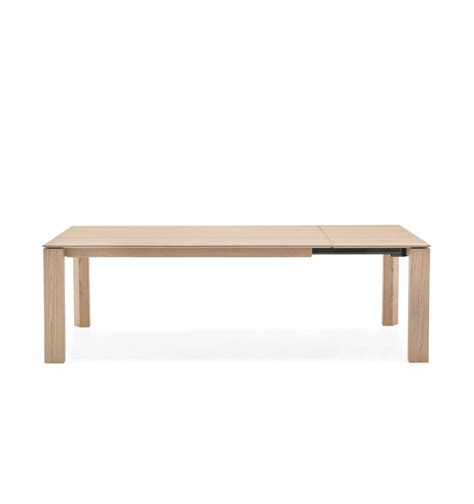 wood dining table modern omnia wood modern extendable dining table