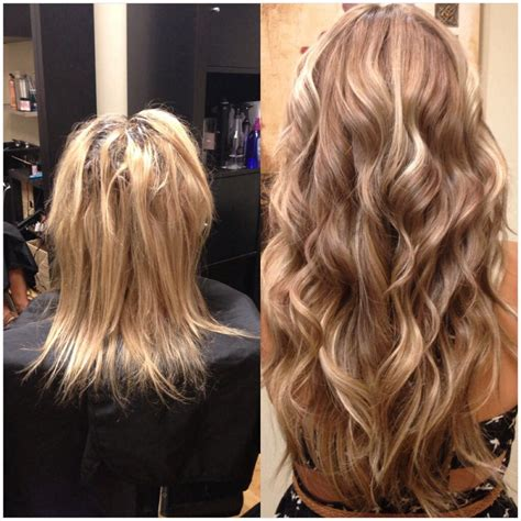 hair permanent extensions hair extension before and after looking for hair