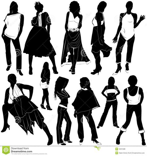 sexy stock photos royalty free images vectors fashion women vector 3 royalty free stock photos image