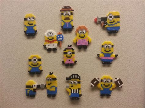 small perler bead patterns perler bead minion car interior design