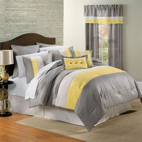 gray white bedroom yellow and gray bedroom to get better sleeping quality