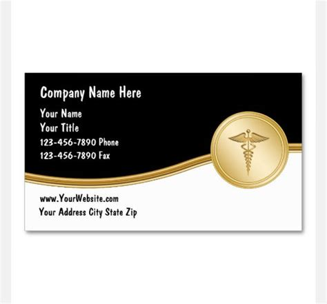 health business cards templates 17 business card templates sle templates