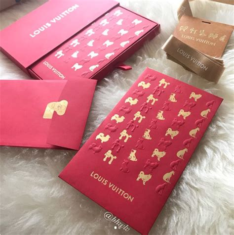 louis vuitton new year envelopes louis vuitton cny 2018 year of the collection