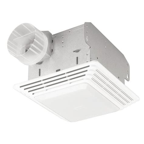 Bathroom Light Fan 50 Cfm Broan 678 Ventilation Fan Light Combo Bathroom Ceiling Toilet Vent New Ebay