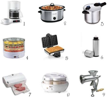 common kitchen appliances common kitchen appliances 9 kitchen gadgets and appliances