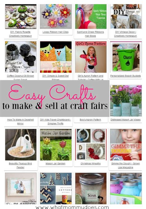 crafts to sell at craft fairs 50 crafts you can make and sell what does