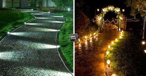 illuminazione vialetti giardino illuminare il vialetto in giardino 20 bellissime idee a