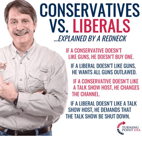 Conservative Memes - conservatives vs liberals explained bya redneck if a
