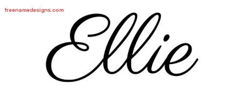 Good Graffiti Coloring Pages #7: Ellie-name-design13.jpg