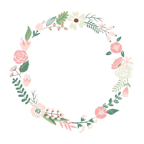 Label Aqua Botol 330ml Tema Prince floral frame retro flowers arranged un a shape of the wreath for wedding