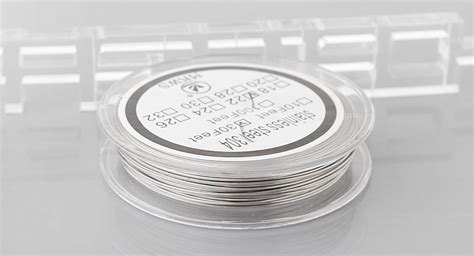 R167 Stainless Steel 304 Wire 24 Awg Ss Kawat Coil Not Kanthal For 3 50 authentic mkws 304 stainless steel resistance wire
