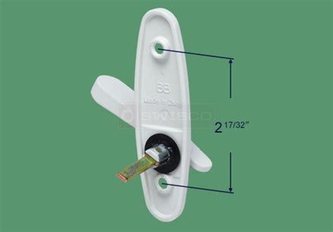 82 043 Andersen Tribeca Thumb Latch Replacement : SWISCO.com