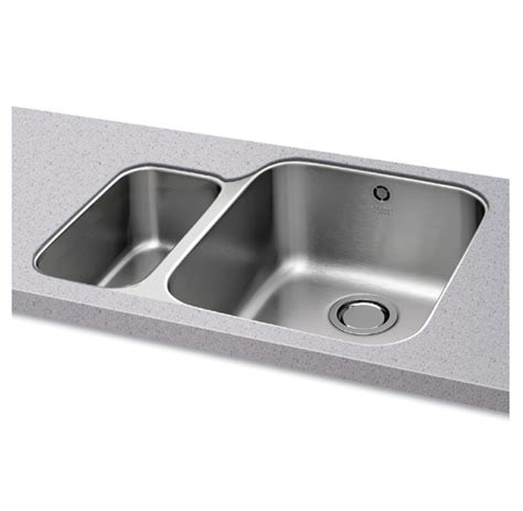 carron kitchen sinks carron phoenix ibis 150 undermount stainless steel