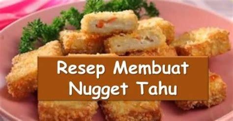 resep dan cara membuat nugget pisang resep dan cara membuat nugget tahu nyokmasak http youtu