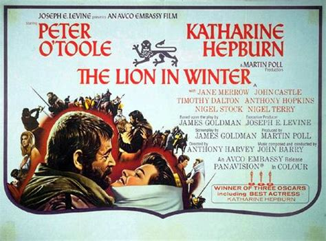 film lion in winter bette s classic movie blog the lion in winter 1968