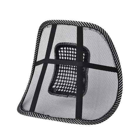 Posture Corrector For Office Chair by Mesh Lumbar Lower Back Support Cushion Seat Posture