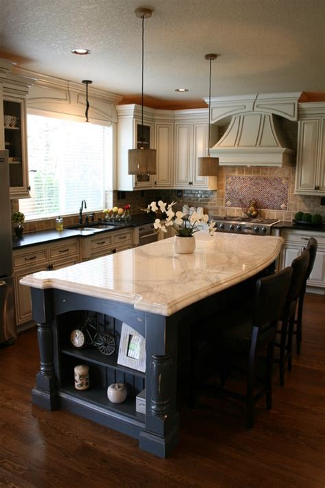 houzz kitchens with islands how many pendants should you hang a kitchen island