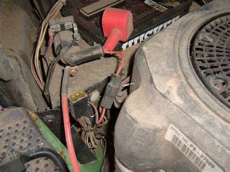 deere  tractor    turn   battery  vdc    clicking
