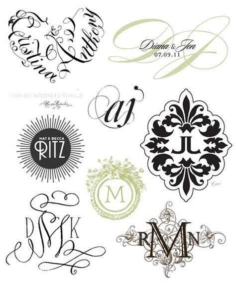 Wedding Monogram by Wedding Monograms Www Imgkid The Image Kid Has It