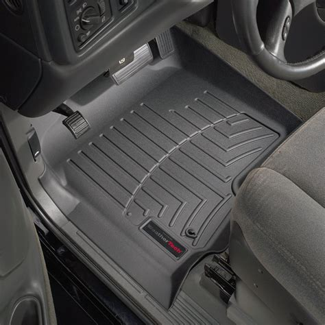 weathertech 174 440031 digitalfit 1st row black molded