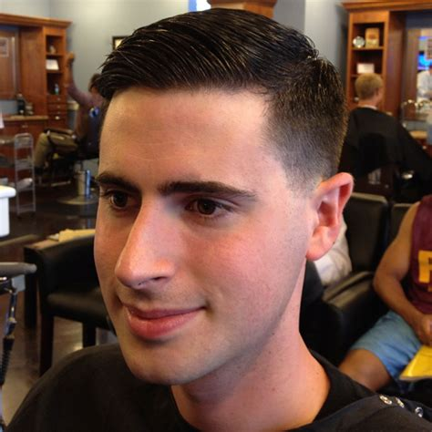 number 0 on back and sides mens hair cuts 2015 this is a classic taper the hair is cut aggressively