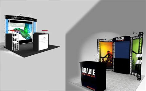 custom booth design trade show 10 ft trade show truss booth design image design and