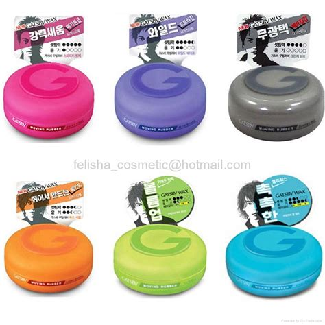 Pomade Gatsby Malaysia gatsby moving rubber hair wax pink made in japan gatsby