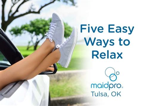 five easy ways to relax
