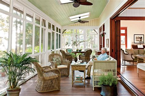 southern living porches screened porch lowcountry style house southern living