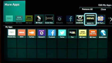 move add delete apps  smarthub   samsung smart