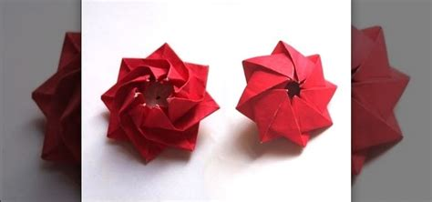 How To Make Pinwheel Flowers From Paper - how to origami the quot bl 252 tenkreisel quot pinwheel flower 171 origami