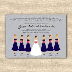 invitation to be a bridesmaid bridesmaids luncheon invitation bridal brunch diy