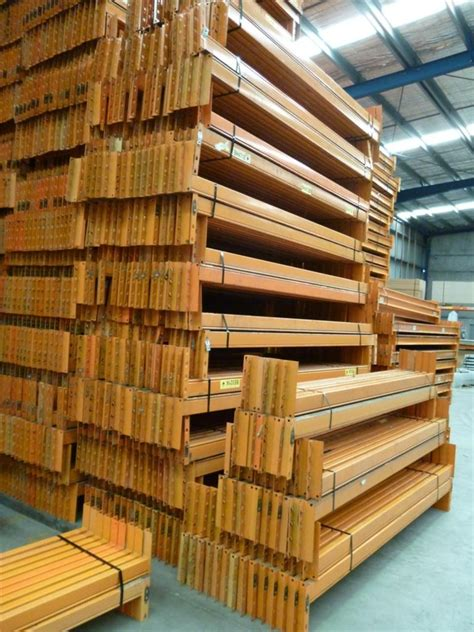 racking components shelving components box beam dexion dexion box beams orange 3048 x 93mm box beams pallet
