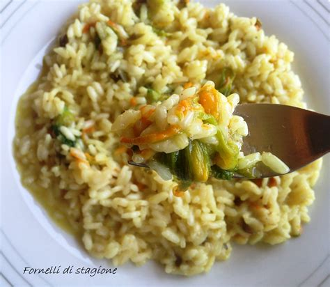 ricetta risotto ai fiori di zucca risotto ai fiori di zucca ricetta veloce fornelli di