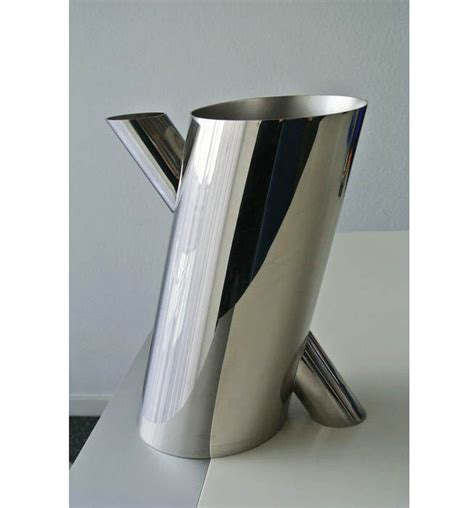 alessi vase mario botta for alessi tronco vase catawiki