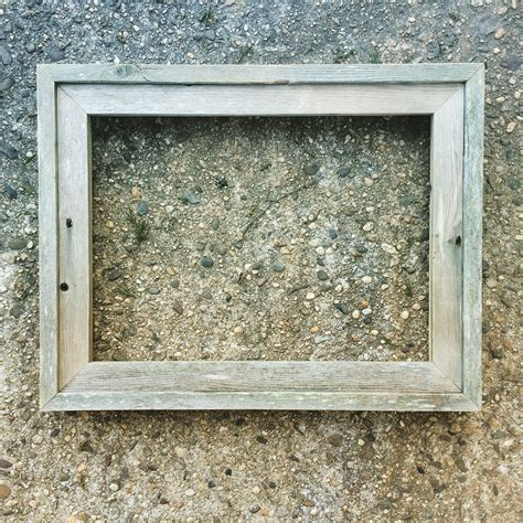 Handcrafted Framing - a series of eight reclaimed llc